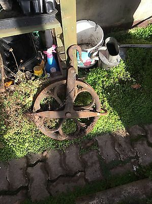 Old Cast Iron Winch