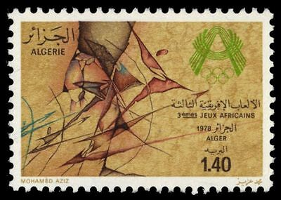 """ALGERIA 602 (Mi712) - African Games """"Wall Painting"""" (pa2153)"""