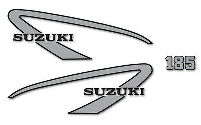 Suzuki 1975 TS185M - decal set