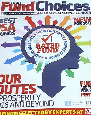 Your Fund Choices magazine #1 2016 Best ISA Funds, Trusts for your Pension &more