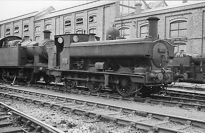 Photo GWR 0-6-0T No 2088 at Swindon works yard in June 1953