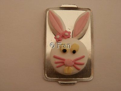 Dolls house food: Easter bunny cake  -By Fran
