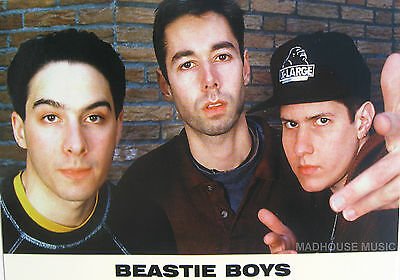 BEASTIE BOYS Postcard UK Official 'PORTRAIT' Pic PYRAMID Posters Licensed PC8164