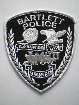 Tennessee Bartlett Police patch TN