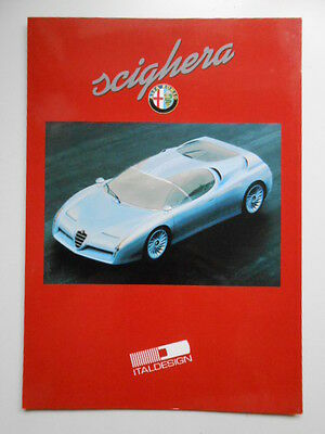 Alfa Romeo cars rare vintage limited issued brochure book 2000s