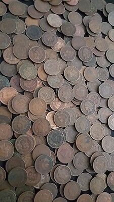 ✯ 5 DIFFERENT DATES Indian Head Penny ✯ Classic Old U.S. Coin Estate Lot ✯