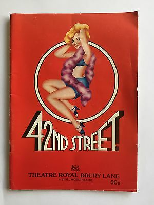 42nd Street Theatre Royal Drury Lane Programme 1986