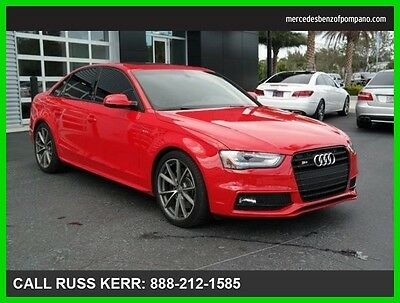 2015 Audi S4 Premium Plus Navigation Camera quattro 2015 Audi S4 Premium Plus All Wheel Drive We Finance and assist with Shipping