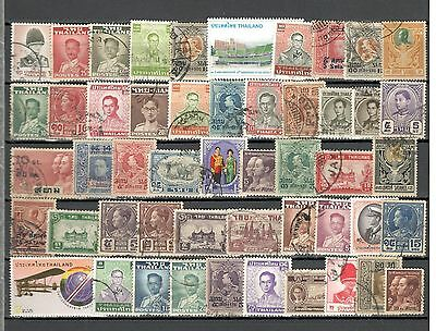 Thailand - 50 Stamps - Used