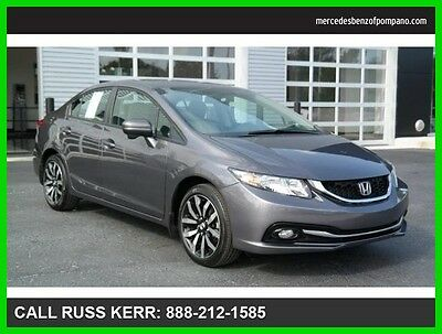 2014 Honda Civic EX-L Leather Navigation Camera Heated Seats 2014 Civic EX-L Navigation We Finance and assist with Shipping