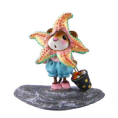 SWEET STARFISH TREATER by Wee Forest Folk, WFF# M-492 Halloween Mouse