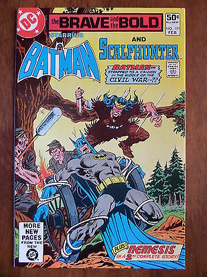 THE BRAVE AND THE BOLD #171 Batman And Scalphunter VF 1981 Bronze Age Classic!!!