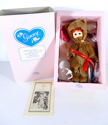 """Boxed Vogue Doll Ginny Sherry's Teddy Bear 8"""""""