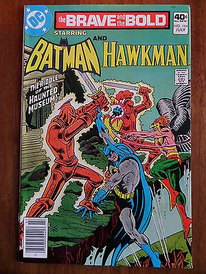 THE BRAVE AND THE BOLD #164 NM 1980 Batman And Hawkman Bronze Age Classic L@@K!