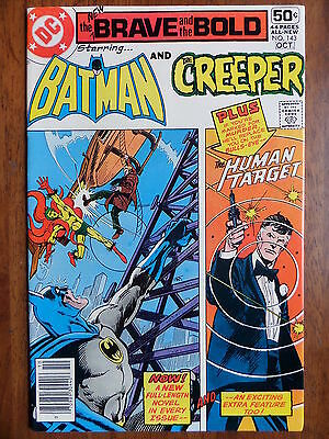 THE BRAVE AND THE BOLD #143 Batman And The Creeper VF 1978 Bronze Age Classic!!!