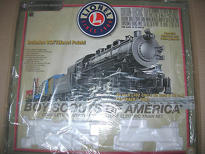 LIONEL BSA BOY SCOUTS OF AMERICA SET BOX train EMPTY o gauge 6-30161 BOX ONLY