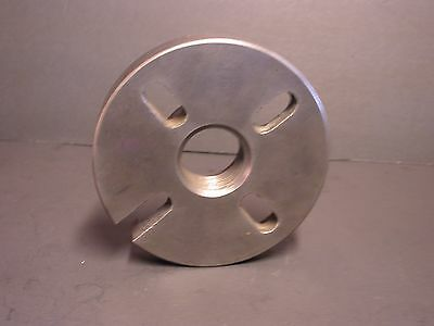 """5-1/2""""  DOG DRIVE FACE PLATE  FOR 11"""" SOUTH BEND METAL LATHE 1-5/8 x 8 THREADS"""