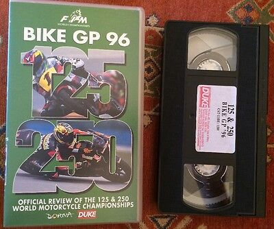 RE LIVE THE GP-Series Of 20 Years Ago-Screaming 125 & 250 Two Strokes-VHS VIDEO