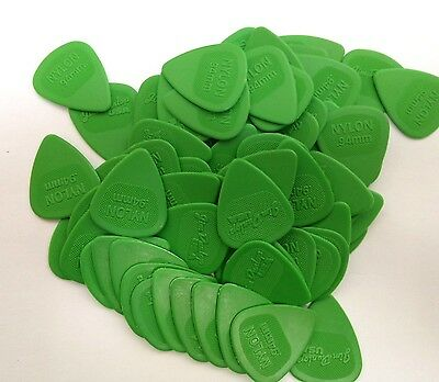 Dunlop Guitar Picks  Nylon MIDI  72 Pack  .94mm  Green