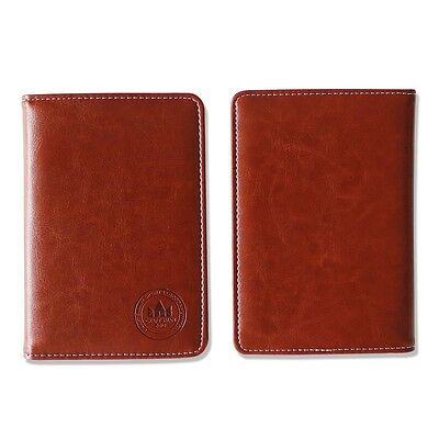 New Brown Golf Leather Score Card Holder come with a pencil by Craftsman Golf