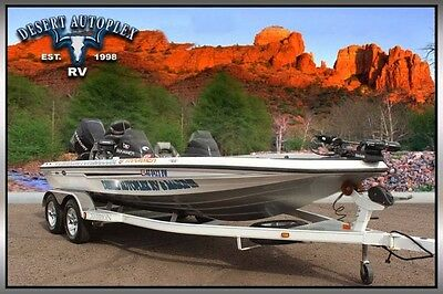 2006 Champion Boats 198 Dual Console Bass Boat Extra Clean