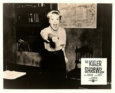 The Killer Shrews Original Lobby Card B-Movie Horror Cult Classic Ingrid Goude