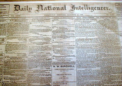 BEST 1868 newspaper 1st Train Robbers RENO BROTHERS LYNCHED @ NEW ALBANY Indiana