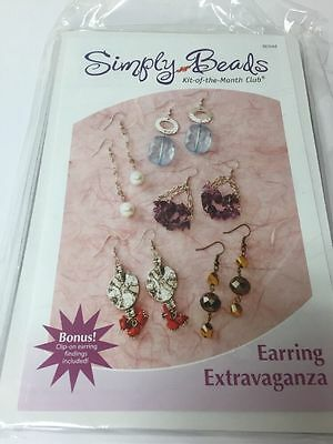Simply Beads Kit Of Month Earring Extravaganza 5 Pairs Bd044 Annie's Attic