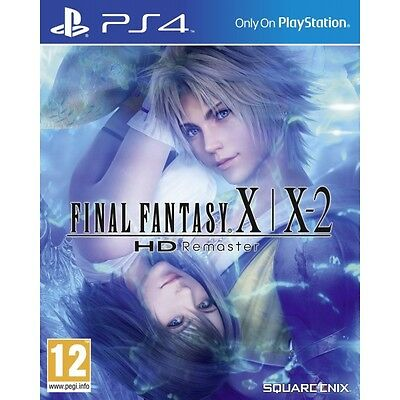 Final Fantasy X & X-2 HD Remastered Game PS4 Brand New