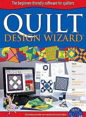 QUILT DESIGN WIZARD ~ Complete Quilting PC Software Program ~ Electric Quilt Co.