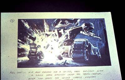 LOT 2: THE TERMINATOR - James Cameron pre-production art - 35mm color slide