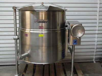 Cleveland Tilting KEL-60T 460V Electric Steam Jacketed Kettle