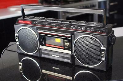 Vintage National  rx4910 BOOMBOX Ghettoblaster Stereo Radio Tape Deck
