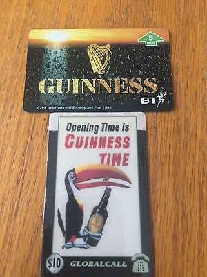Guinness Phone Cards