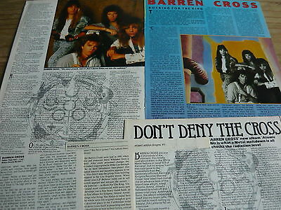 Barren Cross - Magazine Cuttings Collection (Ref T6)