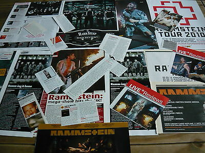 Rammstein - Magazine Cuttings Collection (Ref Bc)
