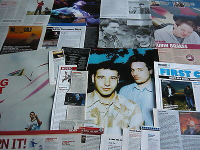 Turin Brakes - Magazine Cuttings Collection (Ref T4)
