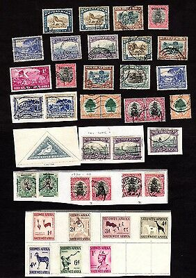 Stamps ~ SOUTH AFRICA & SOUTH WEST AFRICA ~ Unsorted