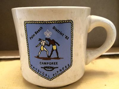 Boy Scout Mug - Palm Beach District '82 Camporee Physical Fitness