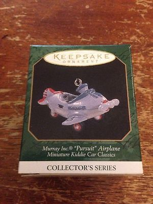 Hallmark Ornament Miniature Murray Pursuit Airplane 1997 #3 in series #18-926G