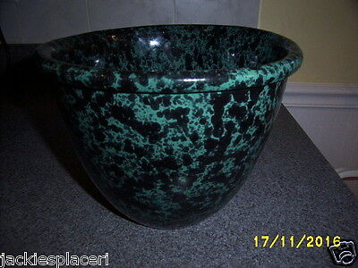Vermont Green Agate Mixing Bowl #1877 6 3/4'' H. Ex.