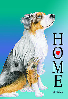 Garden Indoor/Outdoor Home (TP) Flag - Australian Shepherd 620591