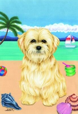 Large Indoor/Outdoor Summer Flag (TP) - Lhasa Apso 69040