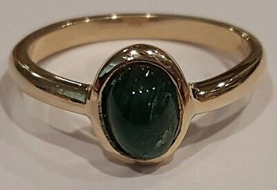 Emerald, Ruby & Sapphire 3 Ring SET 14-k white, yellow and rose gold  size 6