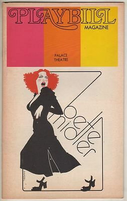Bette Midler Broadway Playbill 1973 The Harlettes  Palace Theatre  Barry Manilow