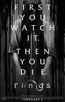 Rings - original DS movie poster - 27x40 D/S Final