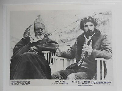 Star Wars rare lobby card Guiness/ Lucas 1970s