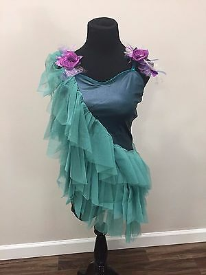 """Curtain Call~""""woodland Dreams""""~Solo Ballet Lyrical Costume~Adult Large New"""