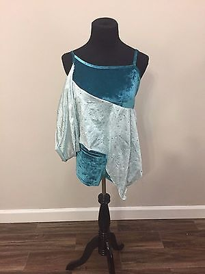 """Curtain Call Costume~""""evening Dream"""" Jazz, Lyrical Ballet, Tap~Adult Small New"""