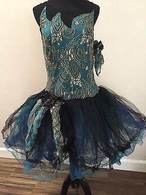 Curtain Call Ballet Solo Dance Lyrical~Rhaspsody In Blue~Adult Size 18 New